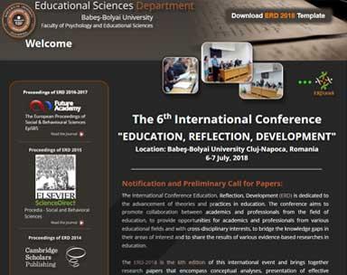 conferinta stiinte ale educatiei